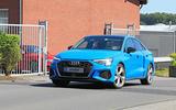 2020 Audi S3 - Nurburgring spy shots