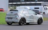 Ford Puma ST spies rear side on