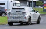 Ford Puma ST spies rear view