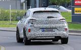 Ford Puma ST spies rear road
