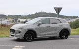 Ford Puma ST spies side front