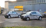 Fiat 500e new spies two