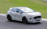 Ford Puma ST spies front side track