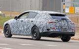 Mercedes CLA spy shot