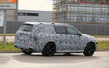 Mercedes-Maybach GLS spy shots