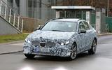 Mercedes-Benz C-class Spy shot