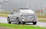 Mercedes-Benz C-class Spy shot