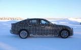 BMW i4 winter testing