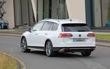 2020 Volkswagen Golf R estate prototype
