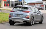 Hyundai Kona N spyshots rear