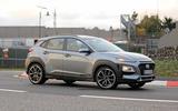 Hyundai Kona N spyshots front side