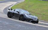 2021 Porsche 718 Cayman GT4 RS prototype