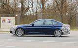 2021 BMW 5 Series saloon prototype - side