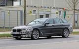 2021 BMW 5 Series Touring prototype - front