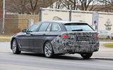 2021 BMW 5 Series Touring prototype - rear