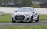 2020 Audi RS3 prototype - front