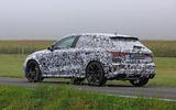 2020 Audi RS3 prototype - rear