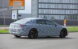 2021 Mercedes-Benz EQS prototype - rear