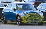 2021 Mini Cooper S facelift prototype - front