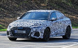 2020 Audi RS3 saloon prototype - front