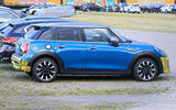 2021 Mini Cooper S facelift prototype - side