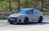 2020 Audi RS3 saloon prototype - front