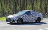 2020 Audi RS3 saloon prototype - front 3/4