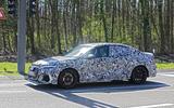 2020 Audi RS3 saloon prototype - side