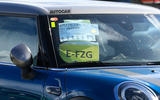 2021 Mini Cooper S facelift prototype - sticker