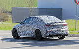 2020 Audi RS3 saloon prototype - rear 3/4