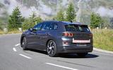 2021 Volkswagen ID 6 prototype - rear