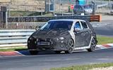 2021 Hyundai i20 N prototype at Nurburgring