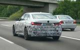 2020 electric BMW 3 Series prototype spy shots
