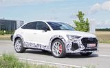 Audi RS Q3 Sportback spyshot