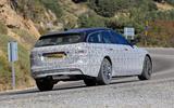 Jaguar XF Sportbrake facelift spies