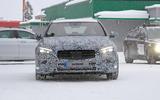 2021 Mercedes-Benz C-Class development mule