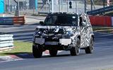 2020 Land Rover Defender spyshots - Nurburgring