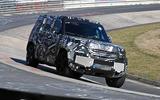 2020 Land Rover Defender spyshots - carousel