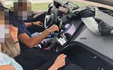 2021 Mercedes-Benz EQS prototype - interior