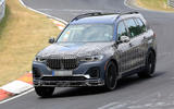 Alpina X7 spotted for the first time