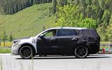 New Kia Sorento spyshot side again
