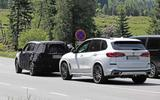 New Kia Sorento spyshot rear with X5