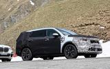 New Kia Sorento spyshot side front
