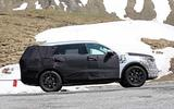 New Kia Sorento spyshot side