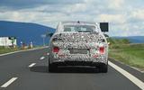 Skoda Enyaq iV coupe rear driving