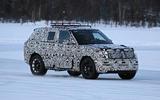 2022 Range Rover Sport drifting on a frozen lake