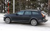 Volvo V90 facelift spyshots side close