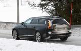 Volvo V90 facelift spyshots rear