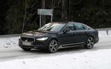 Volvo S90 facelift spyshots front side