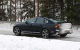 Volvo S90 facelift spyshots side